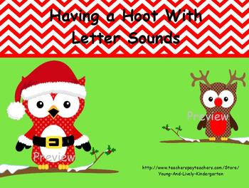 Christmas Owls Letter Sounds