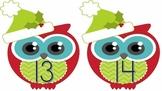 Christmas Owls Ten Frames 0 – 20 Common Core Aligned