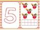 Christmas Owls Theme Play Dough Mats with Christmas Chevro
