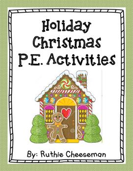 Christmas P.E. Activities