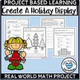 PBL Christmas Math 5th Grade Decimals Interpret the Remainder Activity