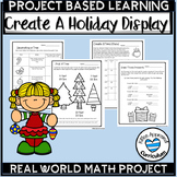 PBL Christmas Project Based Learning Math 4th 5th 6th Grade