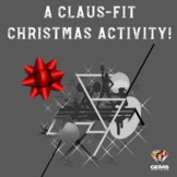 Christmas PE Activity - A Claus-Fit Christmas!