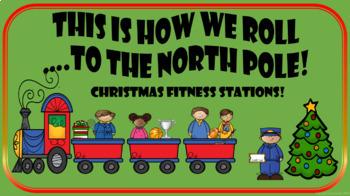 Christmas PE Stations