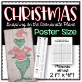 Christmas POSTER (Graphing on the Coordinate Plane) Myster