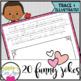 Valentine's Day PRINTING AND CURSIVE Practice Joke Books