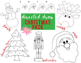 Christmas Pack Directed Draw NO PREP
