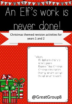 Christmas Pack - Grade 1 and 2 REVISION