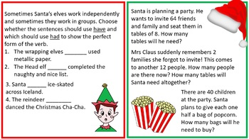 Christmas Pack - Lower Key Stage 2 (Grade 2 and 3)