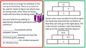 Christmas Pack - Upper Key Stage 2 (Grade 4 and 5)