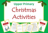 Christmas Pack - Upper Primary Activities