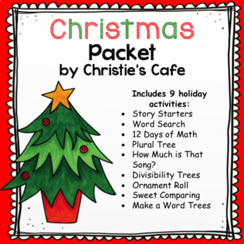 christmas packet - Plural Of Christmas