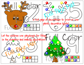 Christmas Packet filled with Activities! Letters, Numbers, Matching FUN!!!