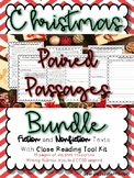 Christmas Paired Passages and Close Reading Bundle