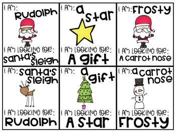 Christmas Pairing Cards