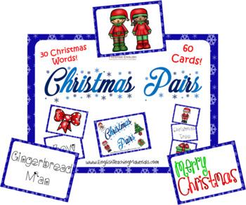 Christmas Pairs Game | Fun Xmas Game