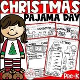 Christmas Pajama Day Activities Preschool