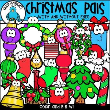 Christmas Pals Clip Art Set - Chirp Graphics