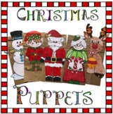 Christmas Crafts - Paper Bag Puppets