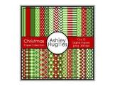 12x12 Digital Paper Set: Christmas Collection {A Hughes Design}