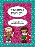 Christmas Paper Set