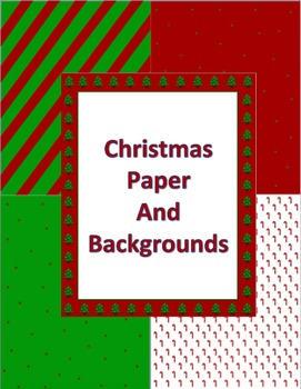Christmas Papers and Backgrounds