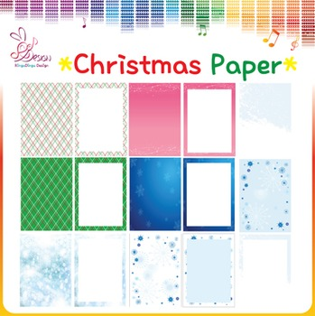 Christmas Paper and Frames!