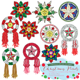 Christmas Parols - Christmas Lanterns of the Philippines Clip Art Set