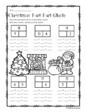 Christmas Part-Part-Whole Addition/Subtraction Fact Families