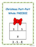 Christmas Part-Part Whole FREEBIE