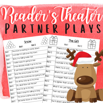 Christmas Partner Plays: Reader's Theater for Two
