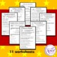 Christmas Punctuation Worksheets- Commas, full stops, question marks & more