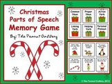 Christmas Parts of Speech Memory Game