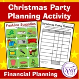 Christmas Party Budgeting Activity