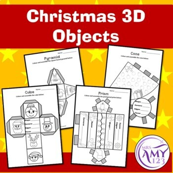Christmas 3D Shapes