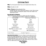 Christmas Party Invites and MORE!