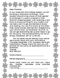 Christmas Party Note