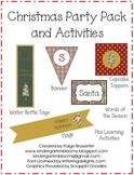 Christmas Party Pack and Activities