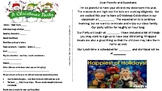 Christmas Party Parent letter, Class Christmas Party letter English and Spanish