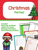 Christmas - Party Sign Up Sheets and more!