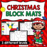 Christmas Pattern Block Mats