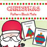 Christmas Pattern Blocks Mats