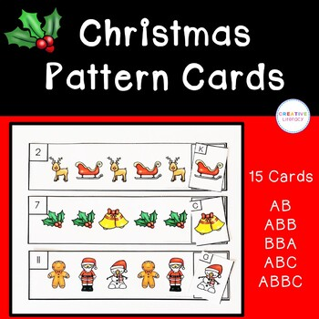 Christmas Pattern Cards