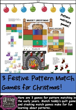 Christmas Pattern Matching Early Years