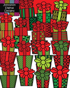 Christmas Pattern Presents
