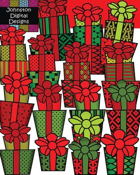 Christmas Pattern Presents