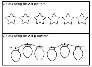 Christmas Patterning Book