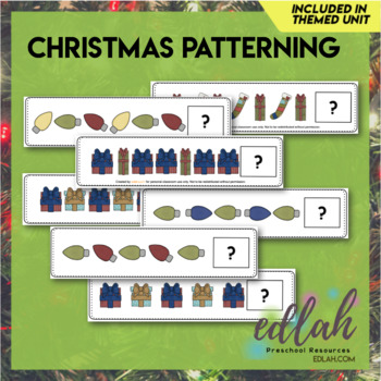 Christmas Patterning Cards