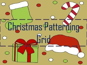 Christmas Patterning Grid