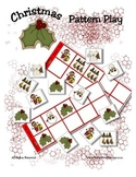 Christmas Patterning Play Game - Holiday Fun ~ Early Readi